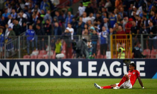 Bei Hertha BSC in der deutschen Bundesliga Leistungsträger, konnte auch Valentino Lazaro im Teamtrikot gegen Bosnien-Herzegowina nicht überzeugen.