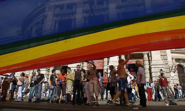 Archivbild: Die Wiener Regenbogenparade