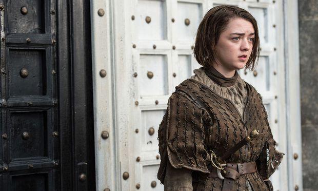Arya geht durch die schwarze Tür. Ob das etwas zu bedeuten hat? / Bild: (c) HBO