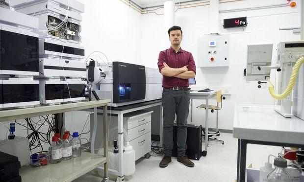 Der Boku-Analytiker Tim Causon hat an der einzigen Universität auf der australischen Insel Tasmanien geforscht, bevor er nach Österreich kam.