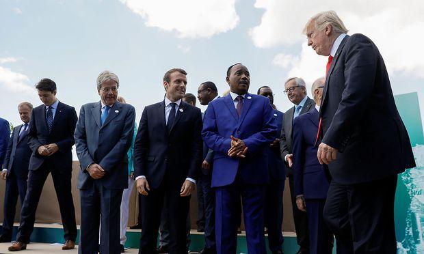 G7 droht Russland mit weiteren Sanktionen