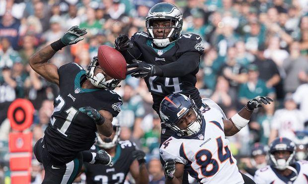 Broncos gegen Eagles