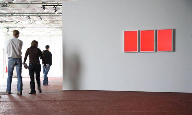 Red Allert: Installation auf der Documenta XII in Kassel (2007).