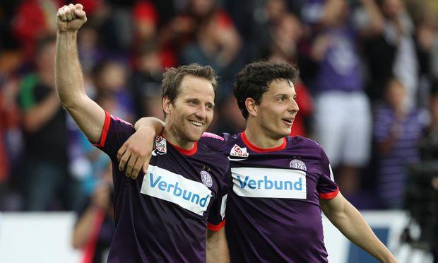 Tomas Jun und Philipp Hosiner