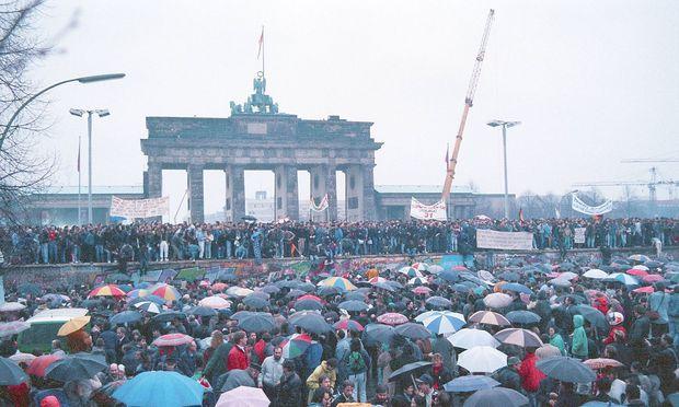 Der Fall der Berliner Mauer