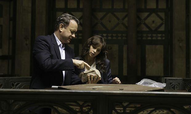 Tom Hanks und Felicity Jones in ''Inferno''