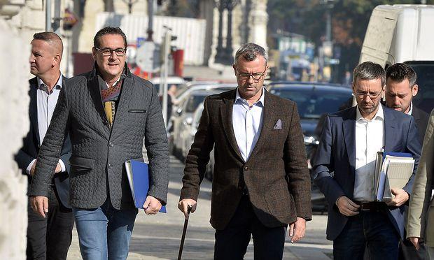 Koalitionsverhandlungen: Sechs Ministerien für FPÖ