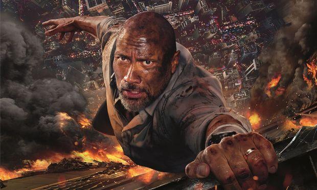 """Mit chinesischer Hilfe produziert: """"Skyscraper"""" mit Dwayne Johnson spielt in Hongkong."""