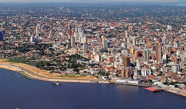 Paraguays Hauptstadt Asunción