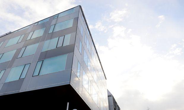 Die Sigmund-Freud-Privatuniversität in Wien Leopoldstadt, in der soeben ein Zubau für die Mediziner fertiggestellt worden ist.