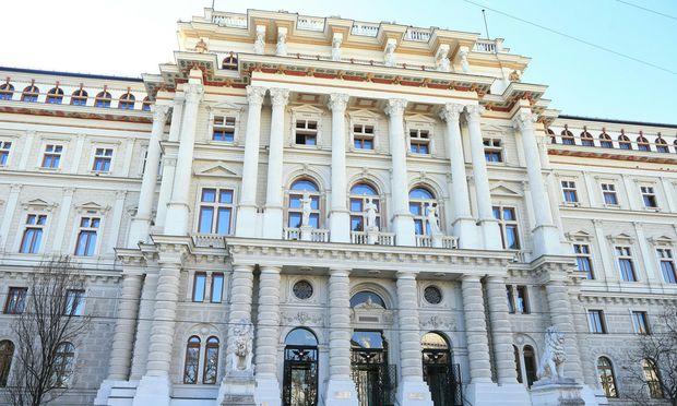 Themenbild: Justizpalast in Wien