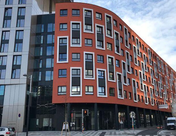 Neubau in der Gertrude-Fröhlich-Sandner-Straße 13.