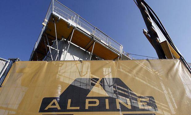 Alpine Bau angeblich in Zahlungsschwierigkeiten