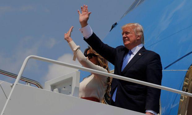 Noch muss Trump nicht zum Abschied winken.