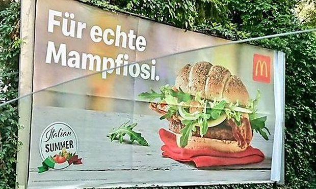 McDonald's-Werbung bringt Italiener auf die Palme
