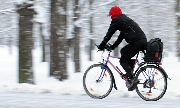 Wien Radfahren Winter boomt