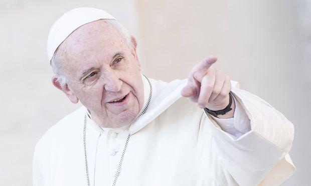Papst Franziskus bei einer Audienz am Mittwoch.