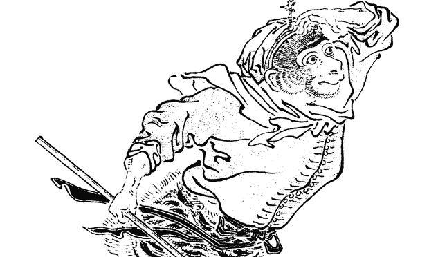 Der Affenkönig Sun Wukong: Bis heute eine der populärsten Figuren der chinesischen Literatur.