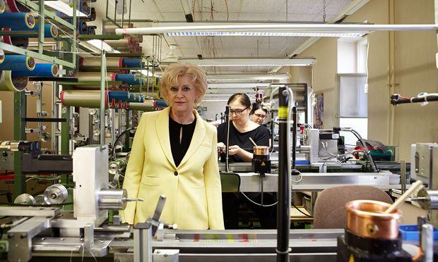 Die Kroatin Zdenka Infeld musste nach dem plötzlichen Tod ihres Mannes im Jahr 2009 die Leitung des Unternehmens von einem Tag auf den anderen übernehmen. / Bild: (c) Katharina Fröschl-Roßboth