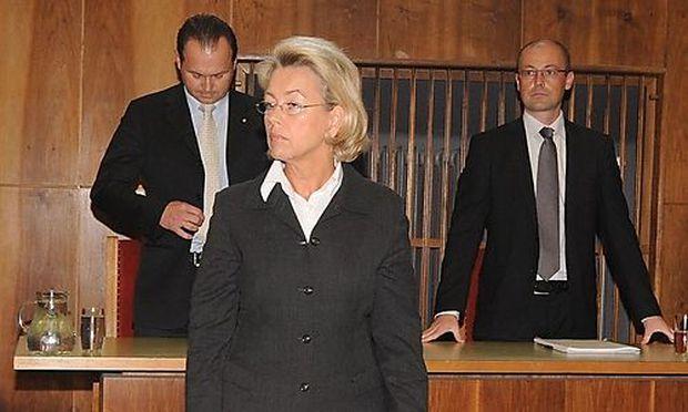 HERBERSTEIN-PROZESS: ANDREA HERBERSTEIN