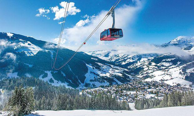 Der G-Link ist seit der Saison 2013/14 eine neue Verbindungsachse der Skigebiete der Region.