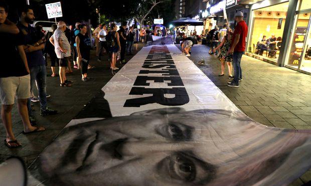 Benjamin Netanyahu steht in der Kritik