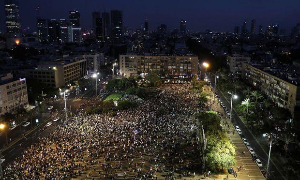 Der Rabin Platz in Tel Avivi
