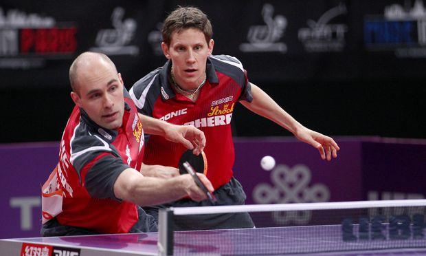 Daniel Habesohn und Robert Gardos