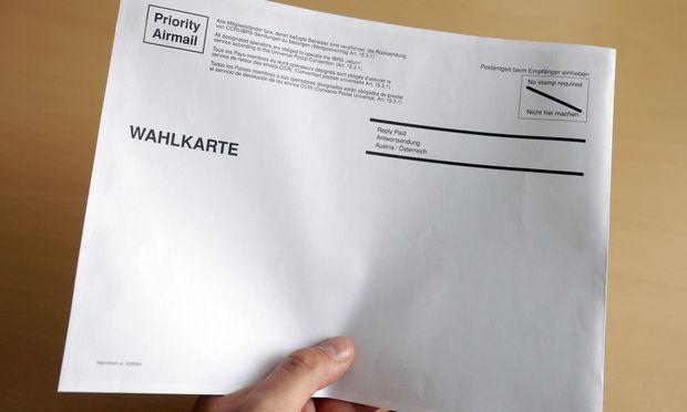 Symbolbild: Wahlkarte