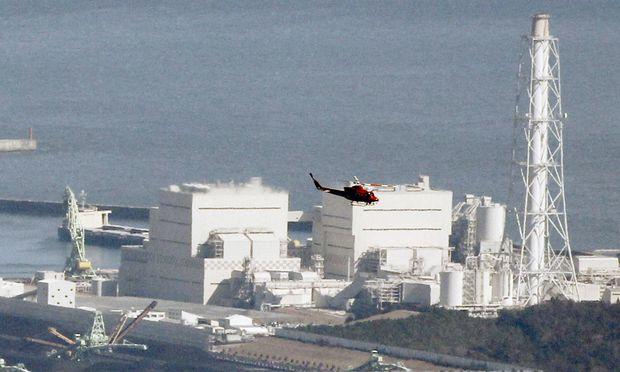 Das havarierte Akw Fukushima.