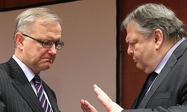 Olli Rehn, Evangelos Venizelos