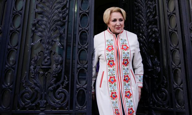 Ministerpräsidentin Vasilica Viorica Dancila (PSD)