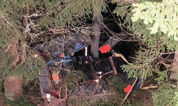 Der Verunglückte war auf einer Forststraße von der Ganzalmhütte zum Moschkogel bei Mürzzuschlag unterwegs.