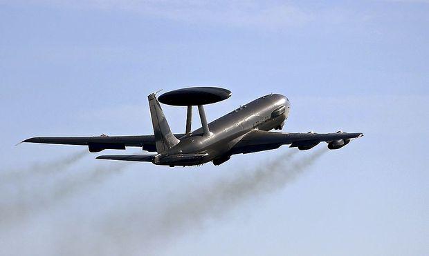 Archivbild: Eine AWACS-Maschine der Nato
