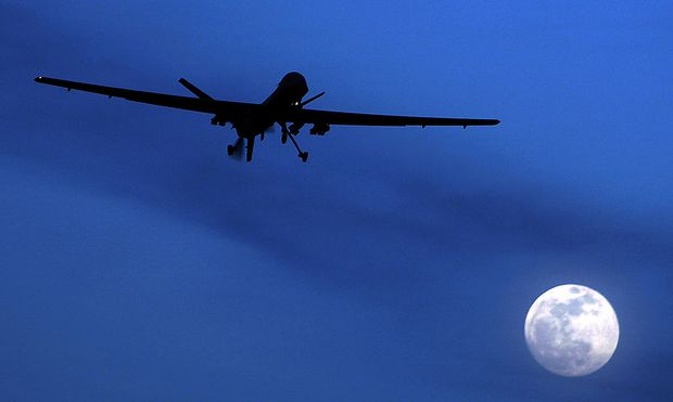Archivbild: Eine Predator-Drohne der USA in Afghanistan.