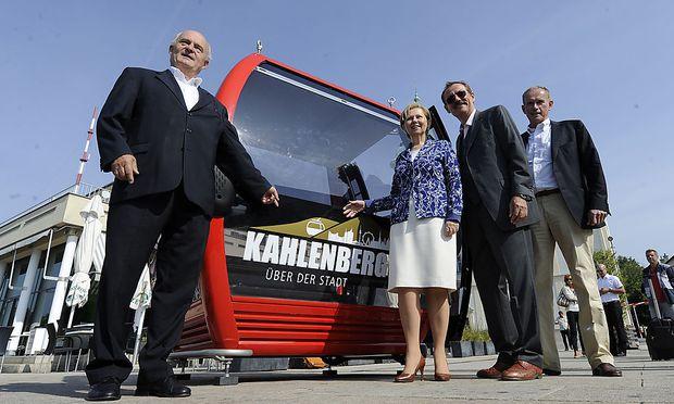 Kahlenberg-Seilbahn würde 30 Millionen Euro kosten
