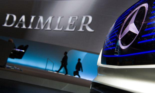 Daimler enttäuscht die Erwartungen im ersten Quartal leicht