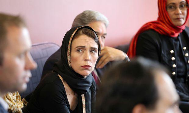 Neuseelands Premierministerin Jacinda Ardern im Kriseneinsatz