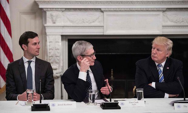 Trump will mit Hilfe von Apple & Co. Verwaltung modernisieren