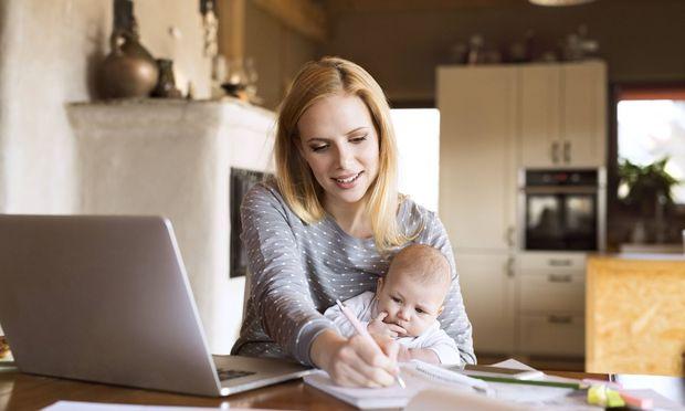 Wann und wie am besten gelernt wird, muss jede studierende Mutter für sich selbst herausfinden.