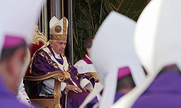 Benedikt XVI. bei der Messe in Havanna.