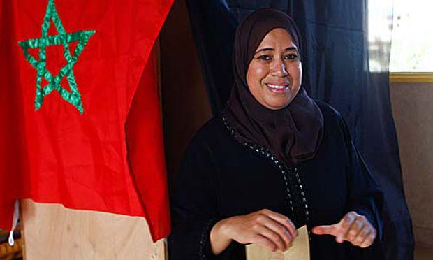 Marokko nehmen Verfassung grosser