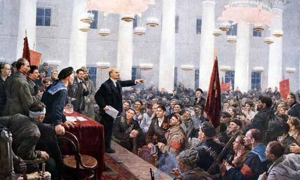 Vladimir Ilyich Lenin Ulyanov 1917