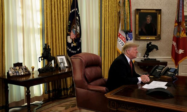 """Was macht Donald Trump in seinem Büro im Weißen Haus während der """"Exekutivzeit""""?"""