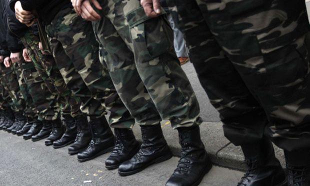 Members of far-right radical nationalist organisation Hungarian Guard