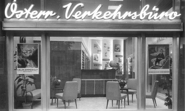 Lang residierte das Verkehrsbüro beim Karlsplatz und richtete coole Filialen ein.