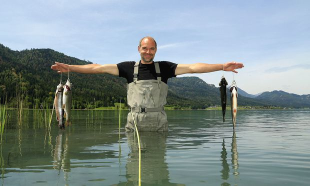 Geheimtipps. Beim Angelguiding führt Müller zu den besten Plätzen des Sees.
