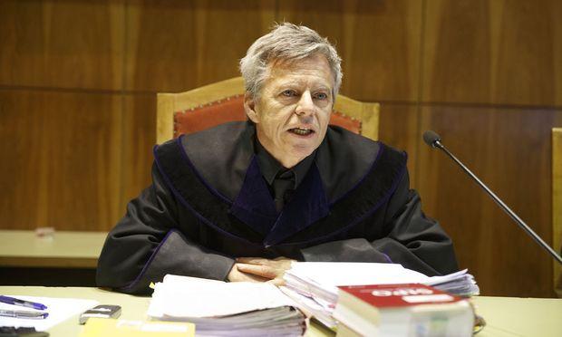 Richter Raimund Frei vor Prozessbeginn