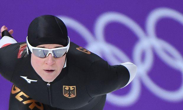Eisschnelllauf-Queen Claudia Pechstein.