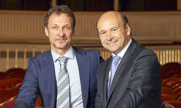 Manuel Legris und Dominique Meyer